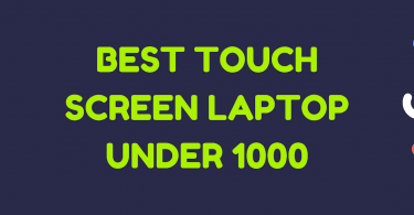 best touch screen laptop under 1000