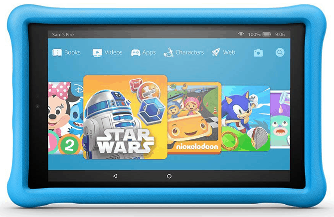 Amazon fire HD 10 tablet kids edition