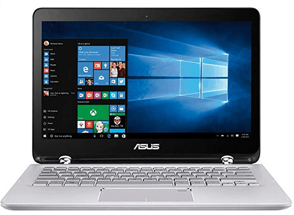 ASUS-Q304UA-13-inch-HD-touchscreen streaming laptop