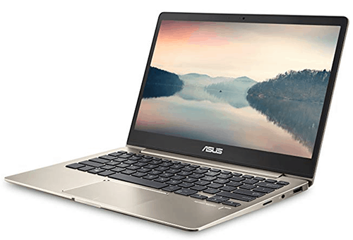 ASUS ZenBook 13 Ultra-Slim with backlit keyboard