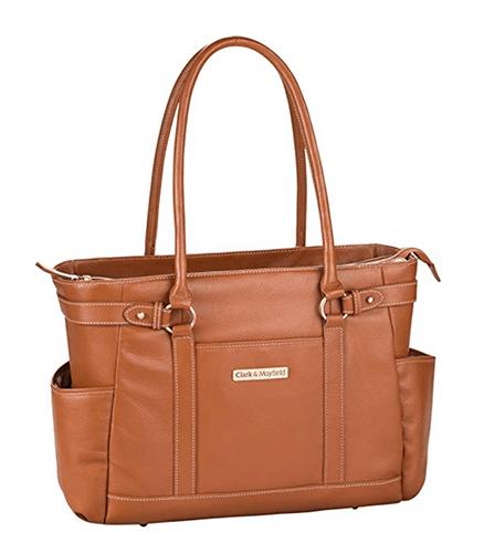 Clark & Mayfield Hawthorne Leather Laptop Handbag under 200