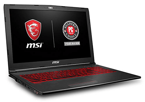 MSI Laptop with backlit keyboard for writers