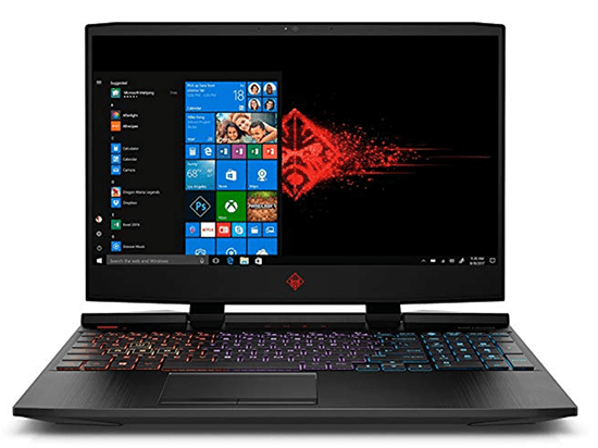 OMEN by HP 2018 15 inch with backlit keyboard