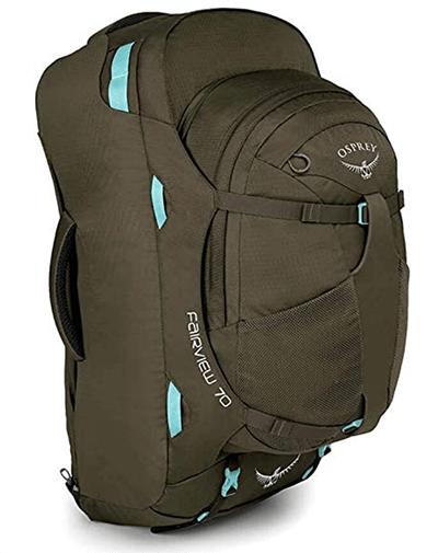 Osprey Packs Fairview 70 Women Backpack for back pain