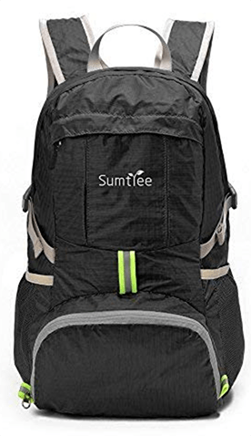 Sumtree 35L Ultra-Lightweight Foldable Packable Backpack for air travel