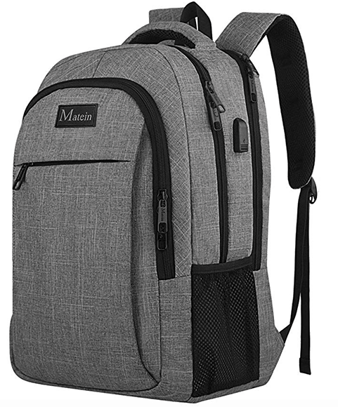 Travel Laptop Backpack anti theft water-resistant and charging port