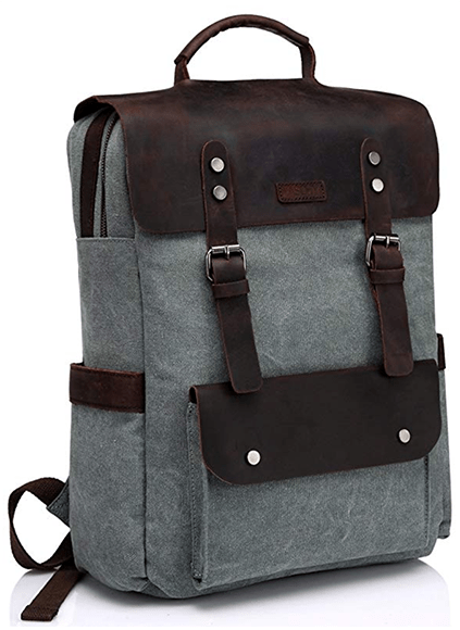 Vaschy Vintage Leather Backpack