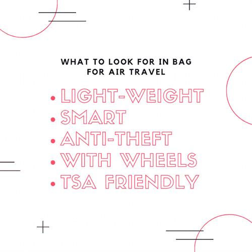 Best laptop bag for air travel