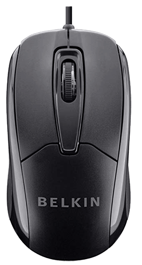 Belkin 3 Button Wired mouse under 10