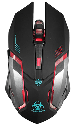 VEGCOO C8 Wireless Gaming Mouse for Fortnite