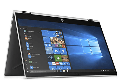hp pavilion X360 - Best laptops for Virtualization