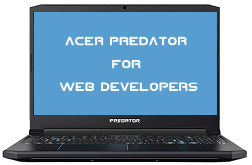 Acer Predator Helios 300 for programmers
