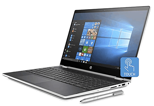 HP Pavilion convertible for online teaching