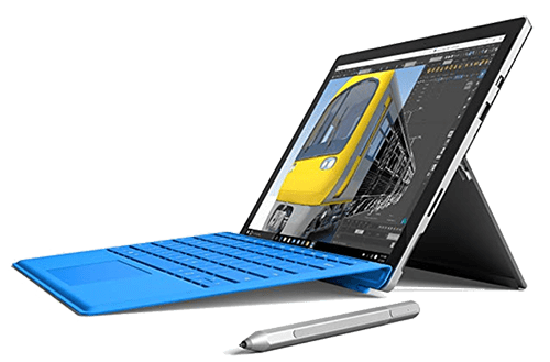 Microsoft Surface Pro 4 for writers and photographers