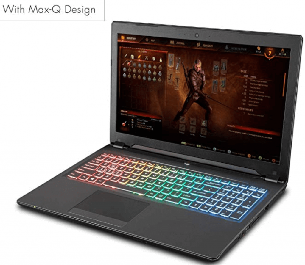 ager NP8957 0.78 Inches thin Gaming Laptop review 2020